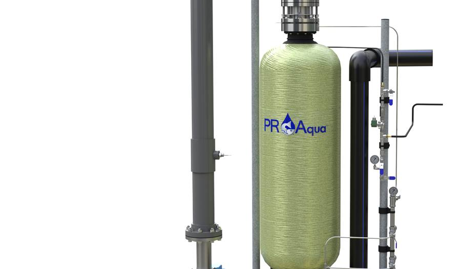 PR Aqua Pressurized Packed Column